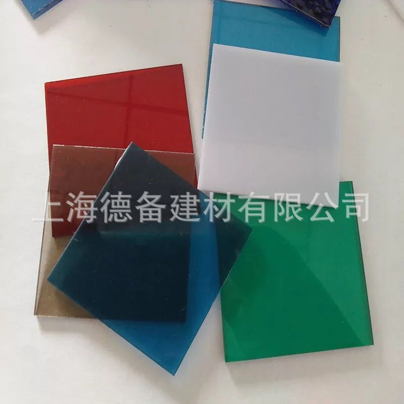 厂家推荐阳高透明耐力板 聚碳酸酯PC板 大型建筑采光玻璃