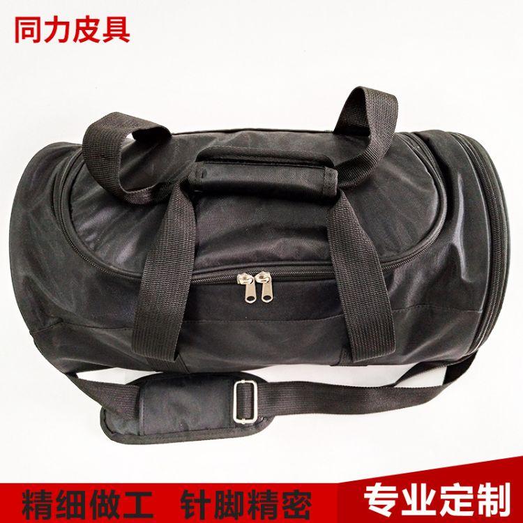 厂家定制户外衣物包 大容量健身运动手提袋 圆筒收纳包