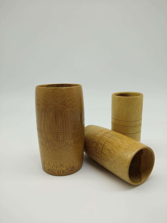 现货批发天然楠竹碳化拔火罐可定制加印logo厂家直销楠竹竹制品