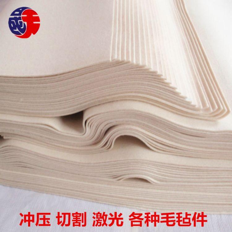 工业羊毛毡高密度密封毛毡条抛光吸油垫圈机械用耐高温各用途毛毡