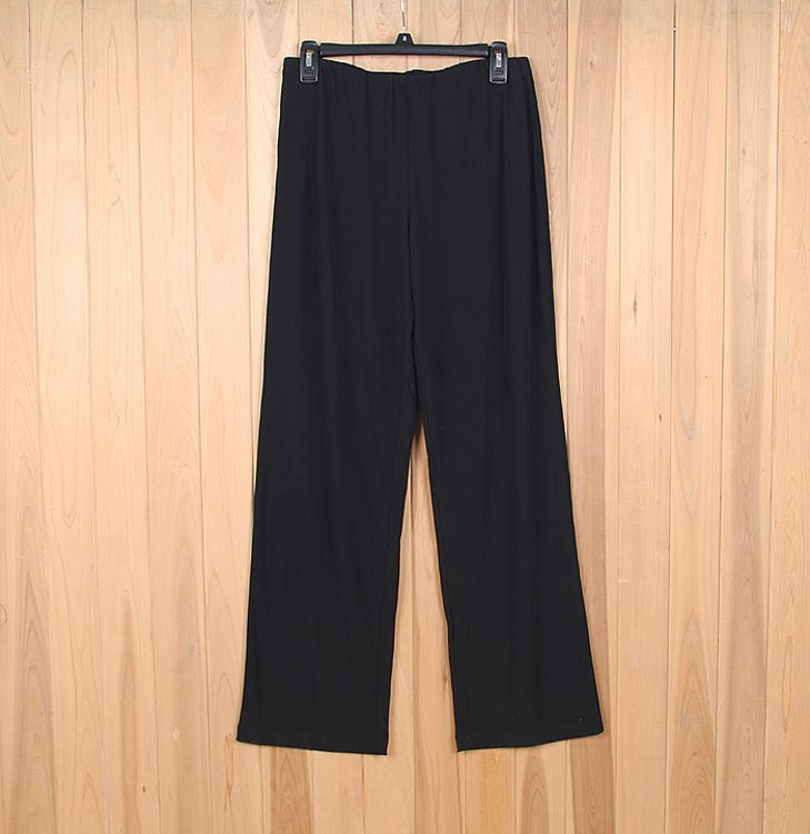 4072# 供应外贸库存服装 大码裤 女式休闲肥婆裤 双层