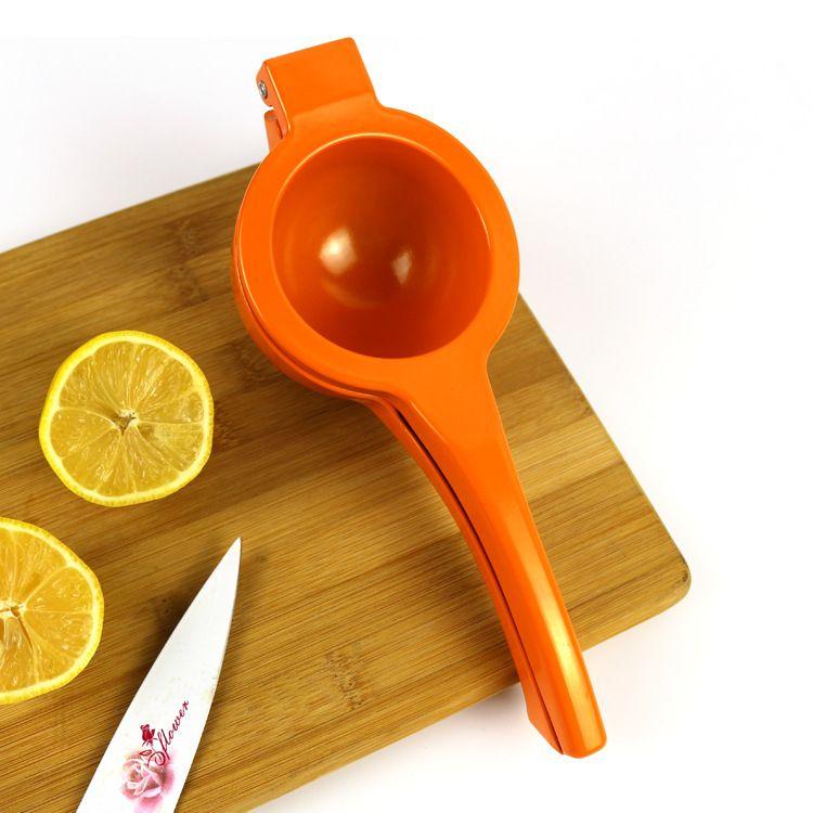 柠檬夹子挤压式器橙子夹榨汁机迷你手动果汁机果汁器