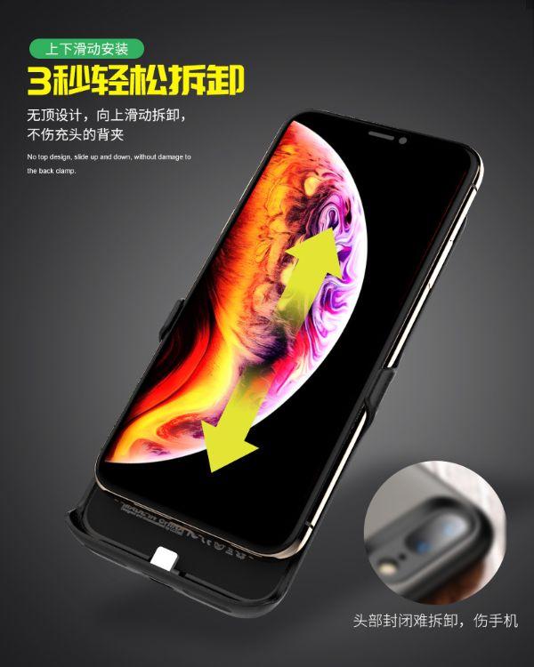 适用于iPhoneX单卡变双卡双待超薄背夹智能适用苹果皮2SIM 直销