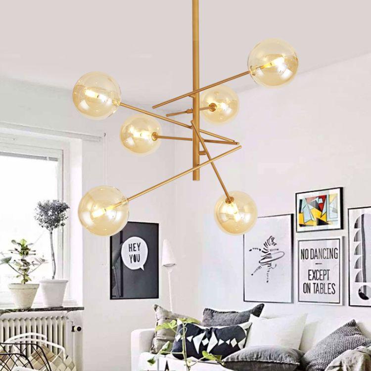 后现代吊灯 北欧创意餐厅客厅灯 上海设计周吊灯灯具厂家 未来设计家