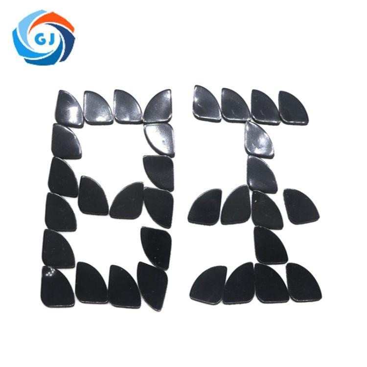 冠君厂家订做3m防滑橡胶垫 黑色圆形防震自粘橡胶垫 桌椅脚垫批发