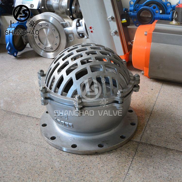 高品质高质量H42X不锈钢底阀 立式止回阀 水力控制不锈钢法兰底阀