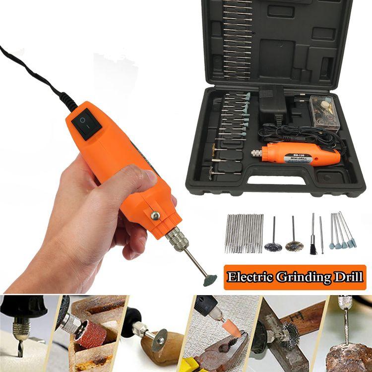 电动工具 插电式 微型小电磨机 迷你小电磨笔 抛光机 打磨雕刻机