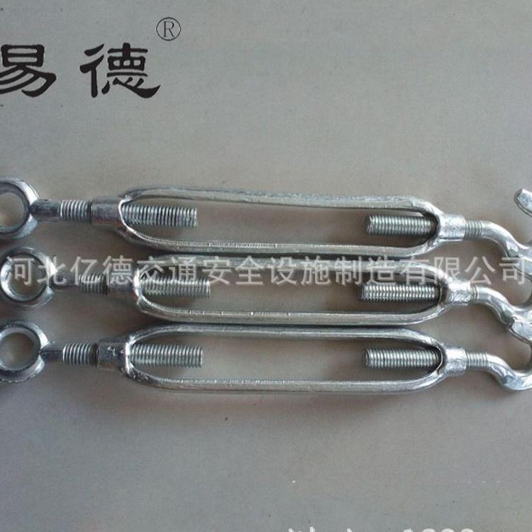 厂家直销 花篮螺丝 开体花兰 国标花篮螺栓 钢丝绳拉紧器现货供应