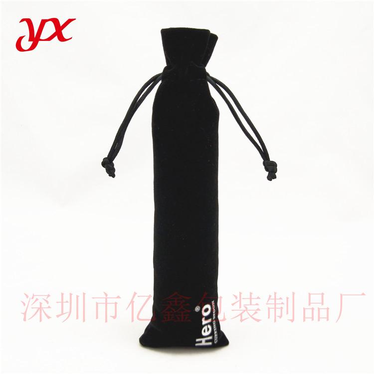 供应黑色绒布袋 充电宝绒布袋 首饰袋 笔袋定做