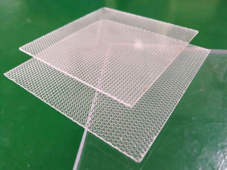 厂价直销扩散板 塑料花纹圆珠半透光装饰板 冠驰