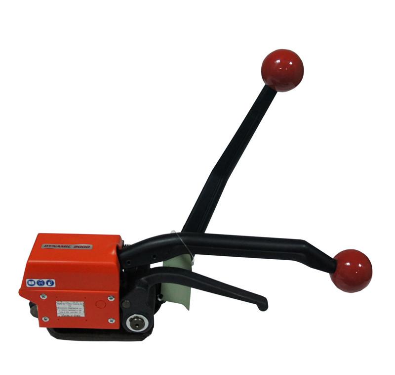 GD35手动免扣钢带打包机 16-19免扣钢带铁皮带捆扎机