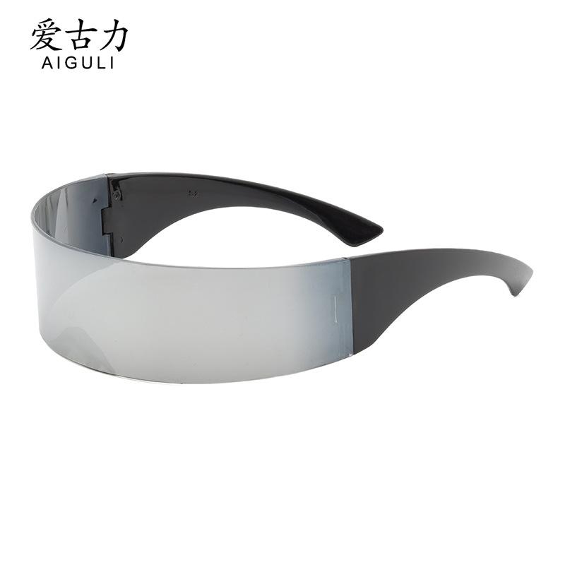 厂家批发发箍眼镜时尚派对舞会party眼镜二次元个性一体眼镜