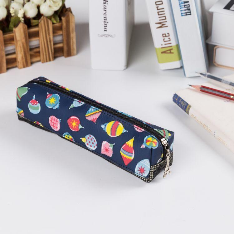 批发韩版大容量笔袋中小学生女孩简约文具盒