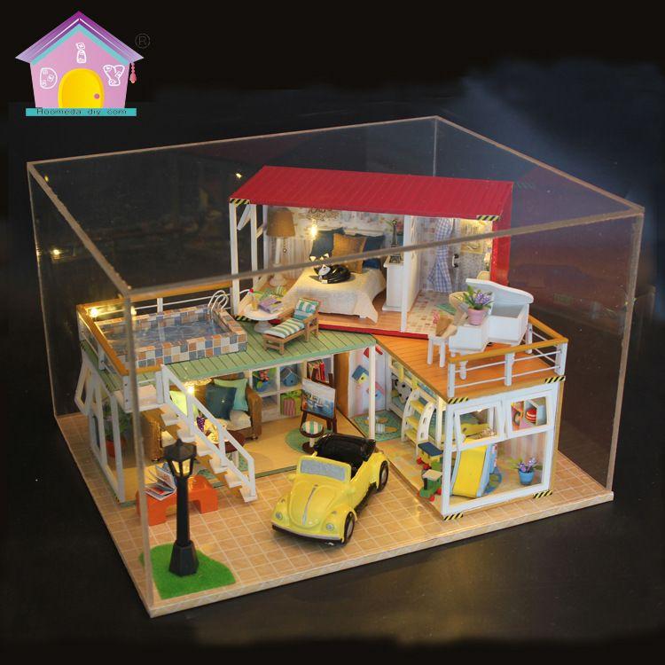 DIY小屋你的名字日式集装箱 圣诞货源建筑模型别墅生日礼物 批发
