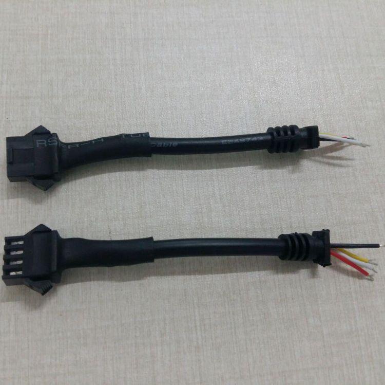 防盗器飞机扣线GT02-4PIN/3PIN电源尾卡线 电子连接线 工厂批发