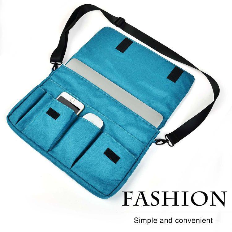 macbookair/pro保护套苹果笔记本13寸电脑包 防水舞龙沙 带肩带