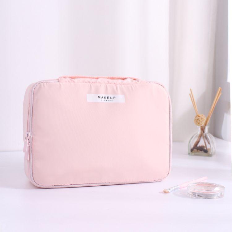 ins网红化妆包小号便携韩国简约大容量多功能少女袋品随身收纳包