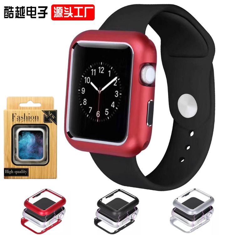 万磁王手表壳适用苹果手表保护套234代金属防摔防刮壳磁吸表壳