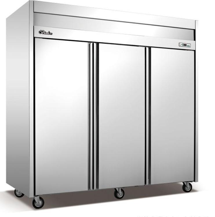 冰力鲜工厂直销大三门冷藏柜 厨房制冷设备 商用酒店设备 便利店冷柜