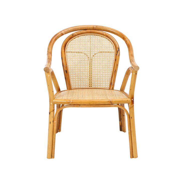 昌盛藤器 茶台通花椅 太师椅官帽椅围椅三件套 新中式太师椅厂家供应