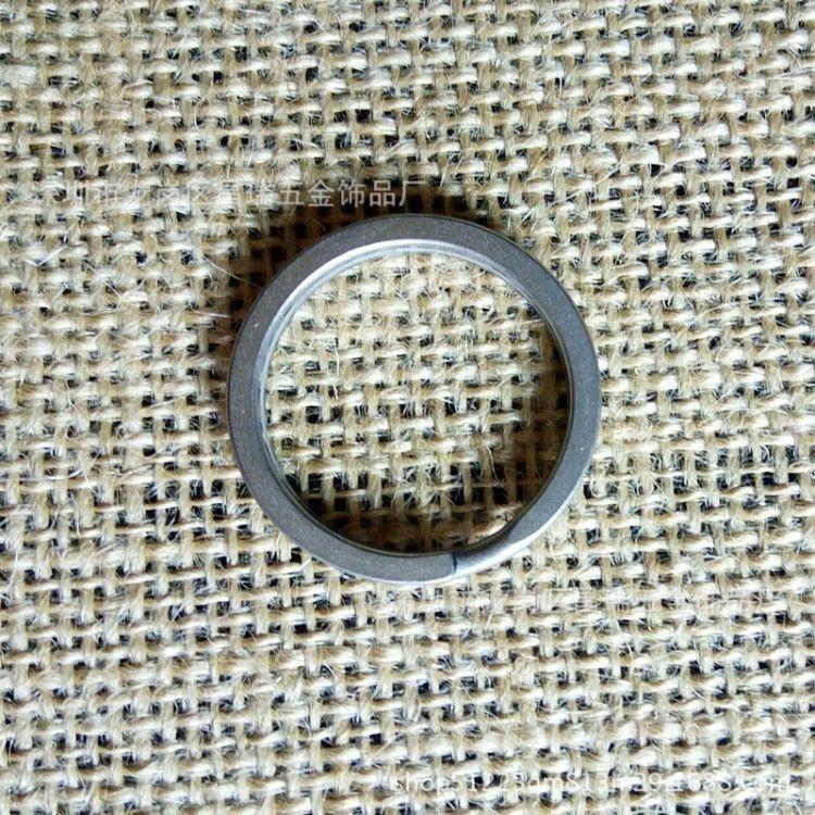 厂家新品上市多种颜色钛合金钥匙圈纯钛钥匙环快挂