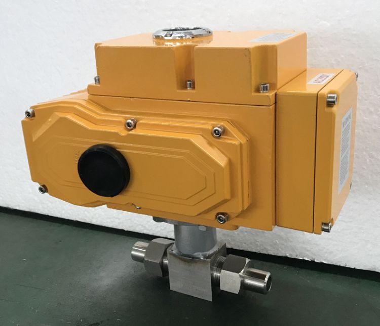 电动针型阀 电动高压针型阀 电动调节针型阀 针型阀电动执行器