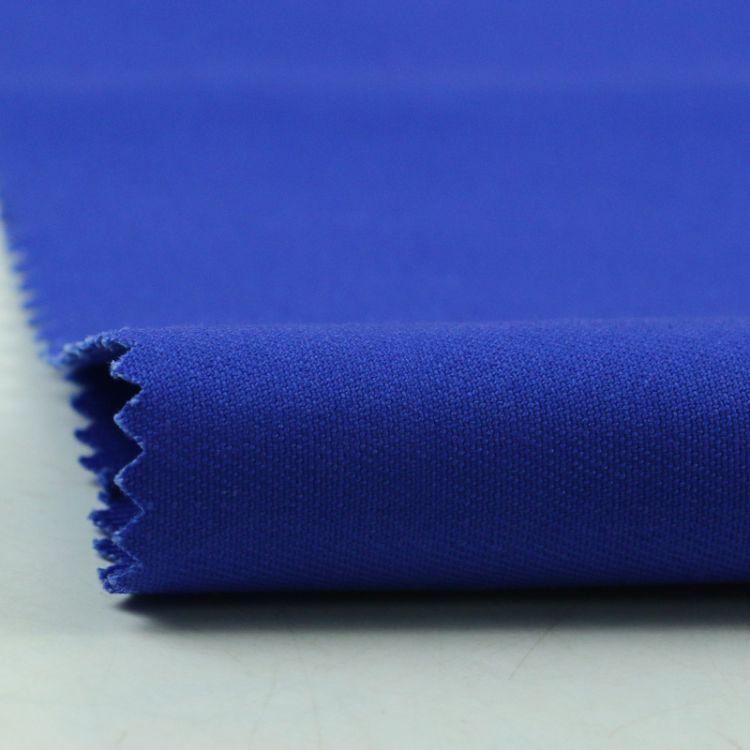 厂家直销染色涤棉纱卡布料 14支工装制服箱包里布裤装服装面料