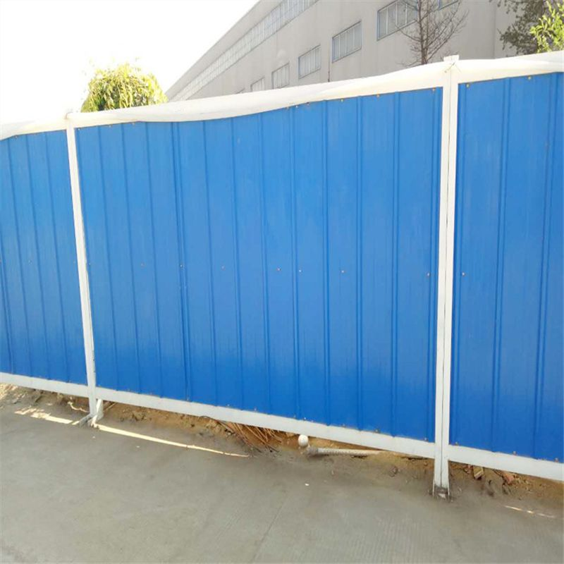 济南施工围挡 建筑隔离围挡 彩钢PVC防护挡厂家直销