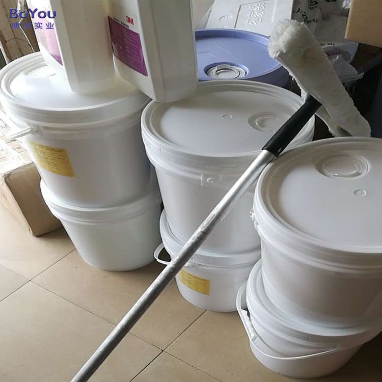 厂家批发防静电地板蜡环保抹机水清洁车间PVC防静电剂