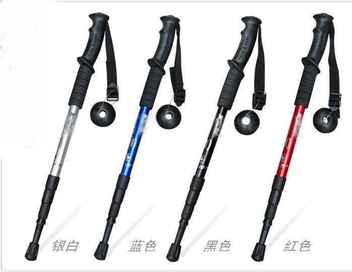 厂家生产铝合金登山杖 新款户外登山杖拐杖 铝合金便携登山手杖