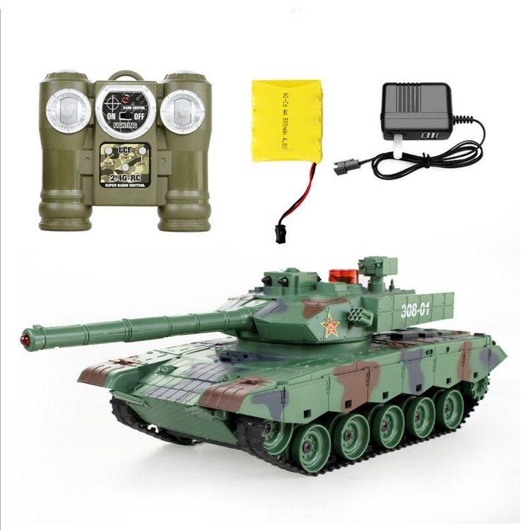 电动 遥控对战坦克亲子对战红外线炮塔阅兵坦克模型男孩玩具