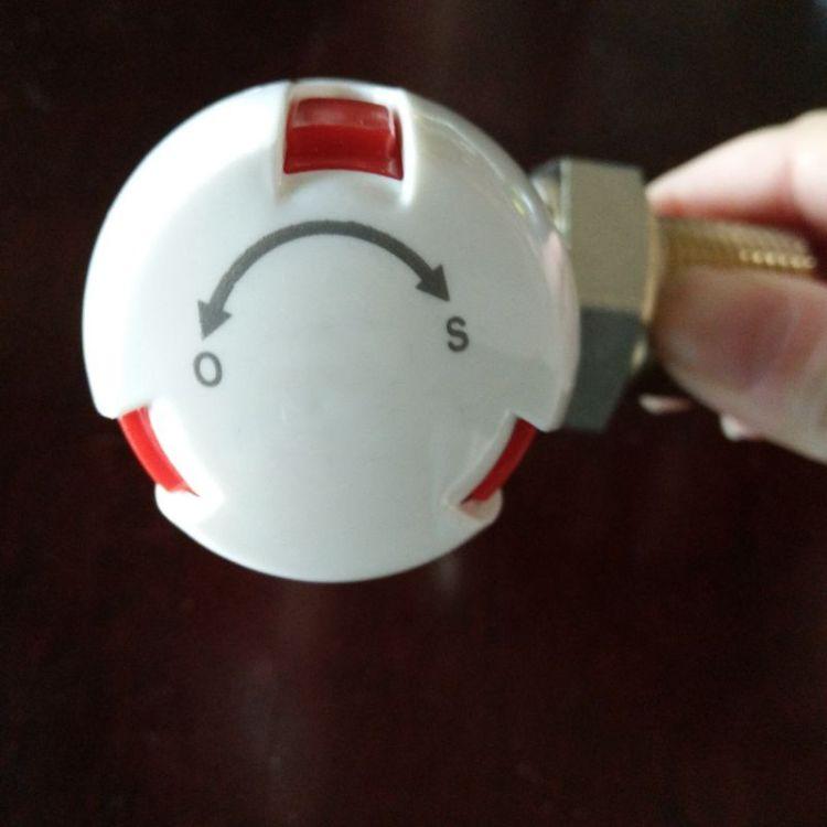 热销中高质量温控阀门家装工装卧室客厅餐厅暖气片散热器专用开关