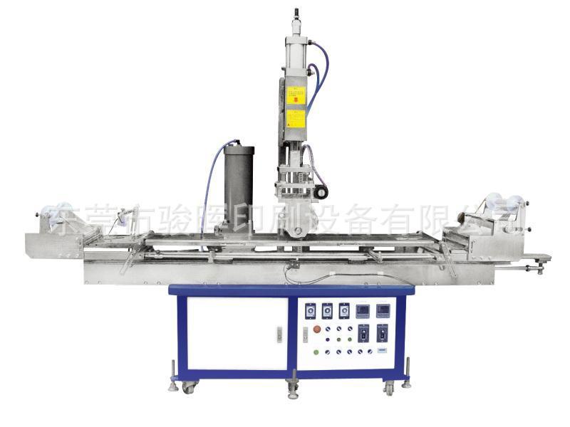 1500大型平面热转印机 骏晖印刷 空调电视机边框装饰条银边线条烫印热转印机 制造企业