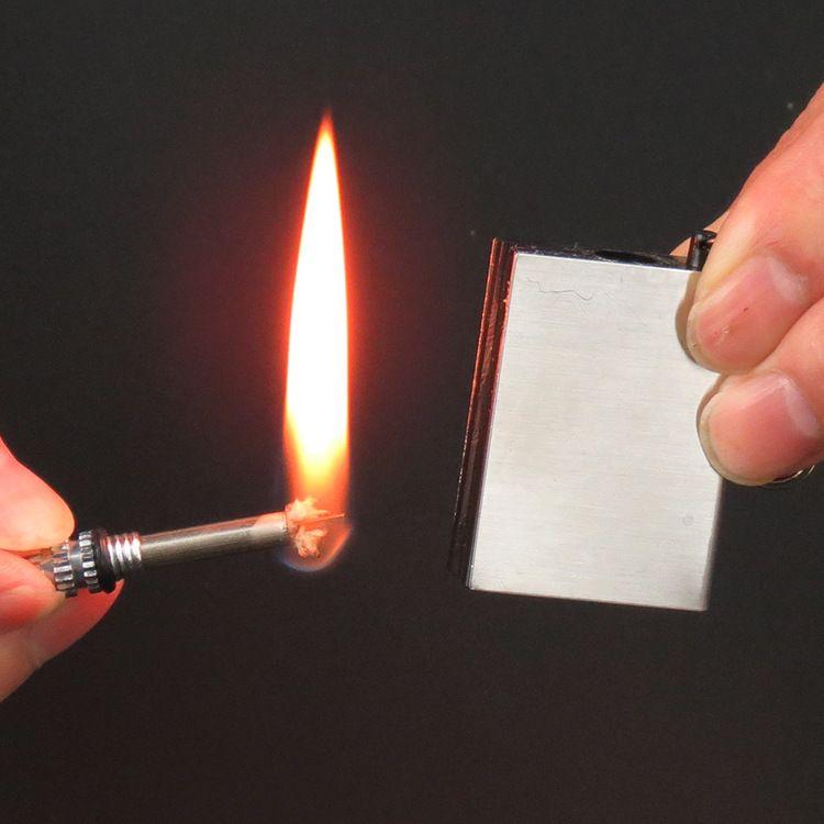 厂价直销不锈钢万次火柴 logo定制创意礼品钥匙扣万次火柴批发