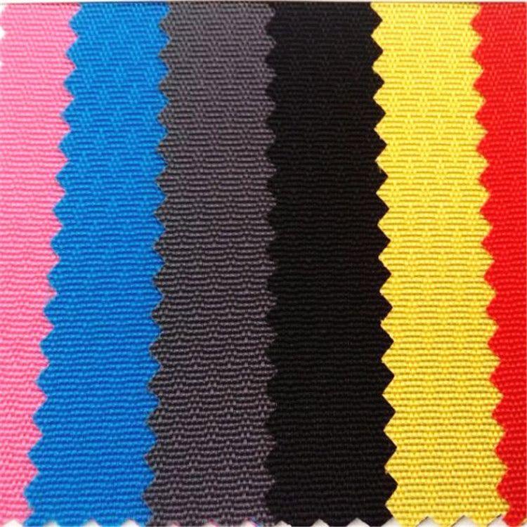 现货销售防水尼龙面料420D网纹尼龙布PU420D PU网纹尼丝纺布料