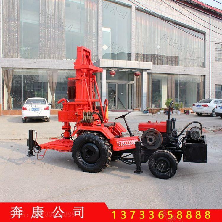 拖拉机水井钻机 动力头钻井机 钻井机厂家 小型灌溉打井机