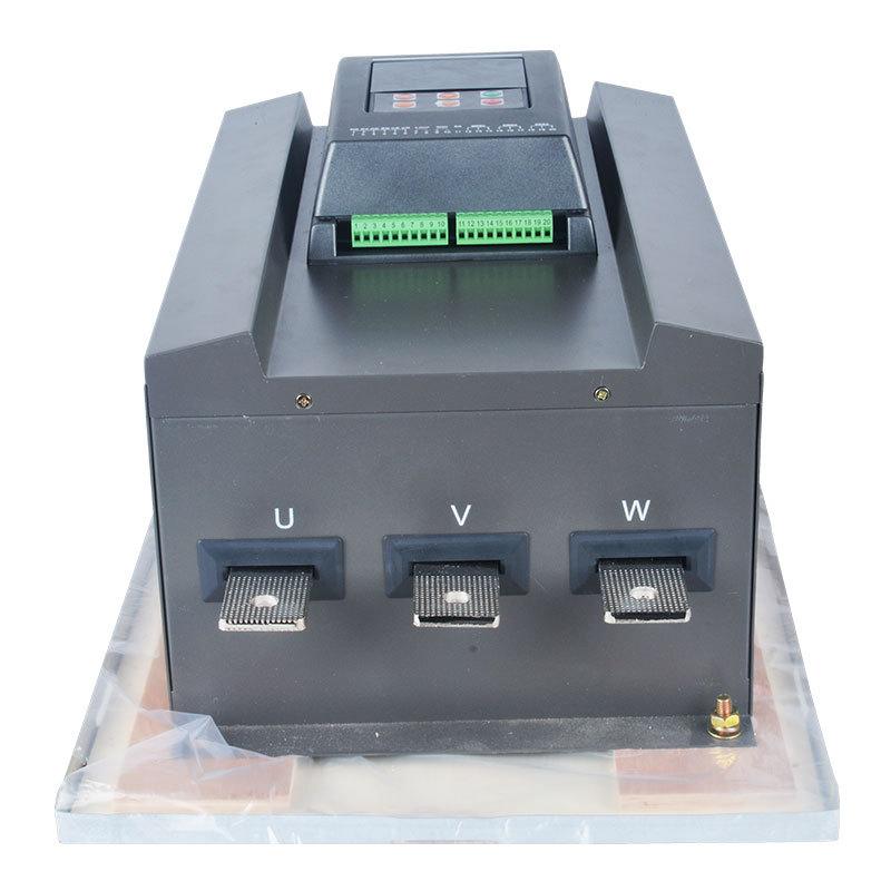 新款WSTR-D-75KW液晶汉显外置旁路降压限流多模式智能化软启动器