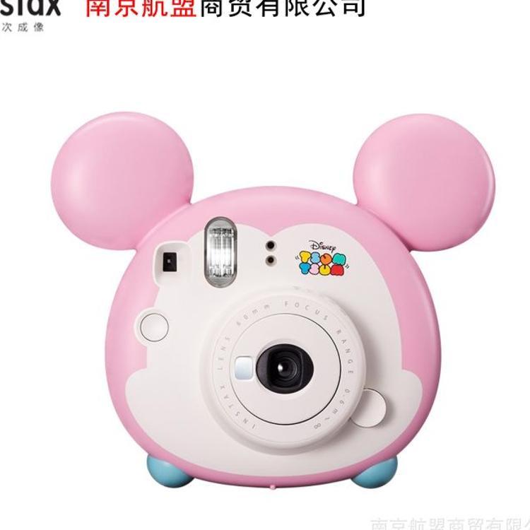 富士拍立得相机mini9松松照相机拍立得相纸米奇可爱卡通粉红