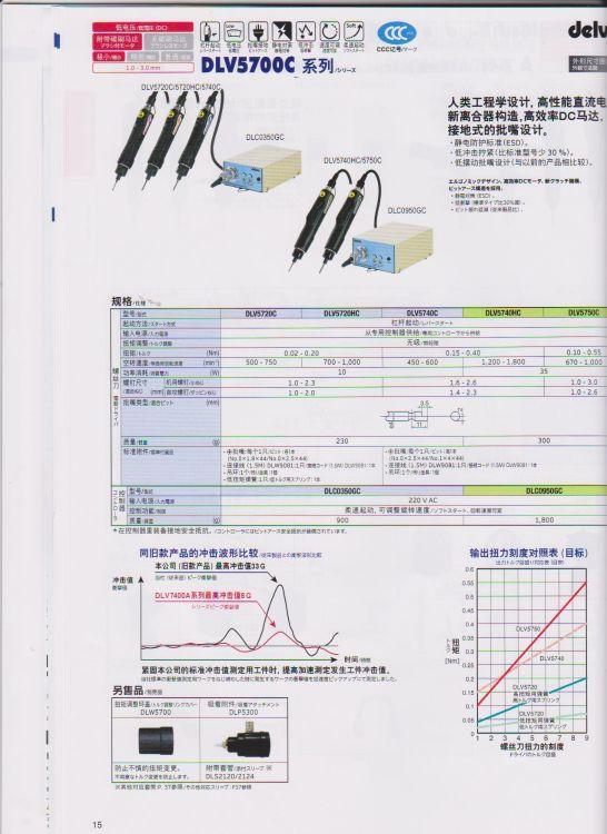 dlv 5700c 电动螺丝刀 DLV 5720C 5720HC 0350GC