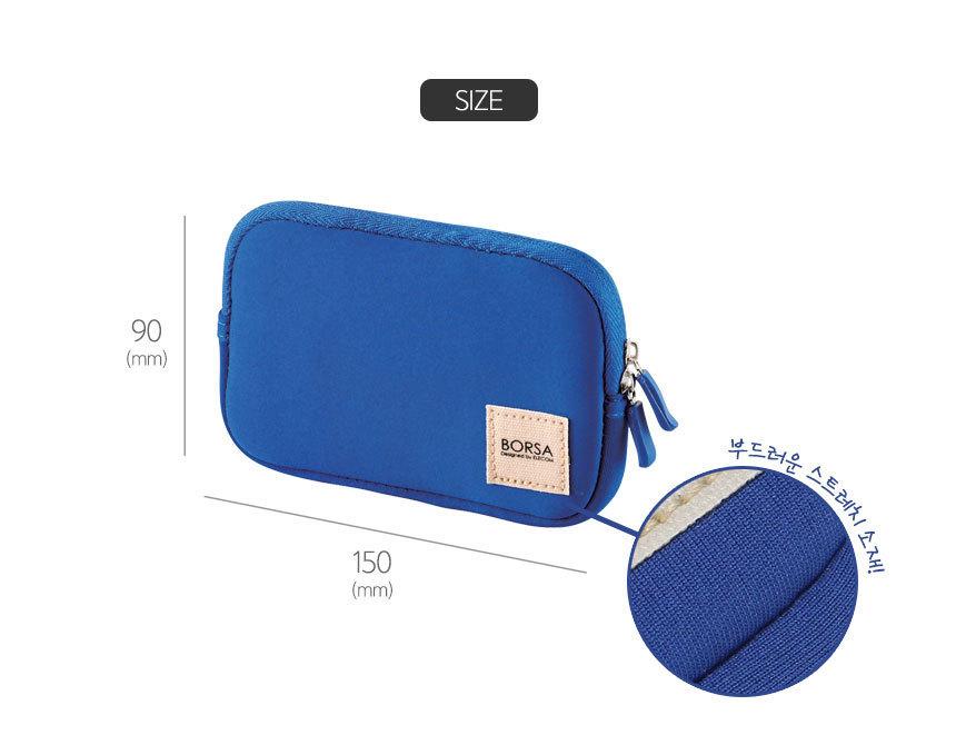 深圳厂家订制 数码产品包装袋 USB数据线手拿包 旅行数码数纳袋