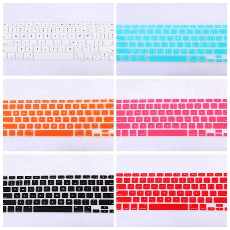 苹果笔记本电脑MacBook AIR/PRO/11/12/13/15键盘保护膜贴膜-美版