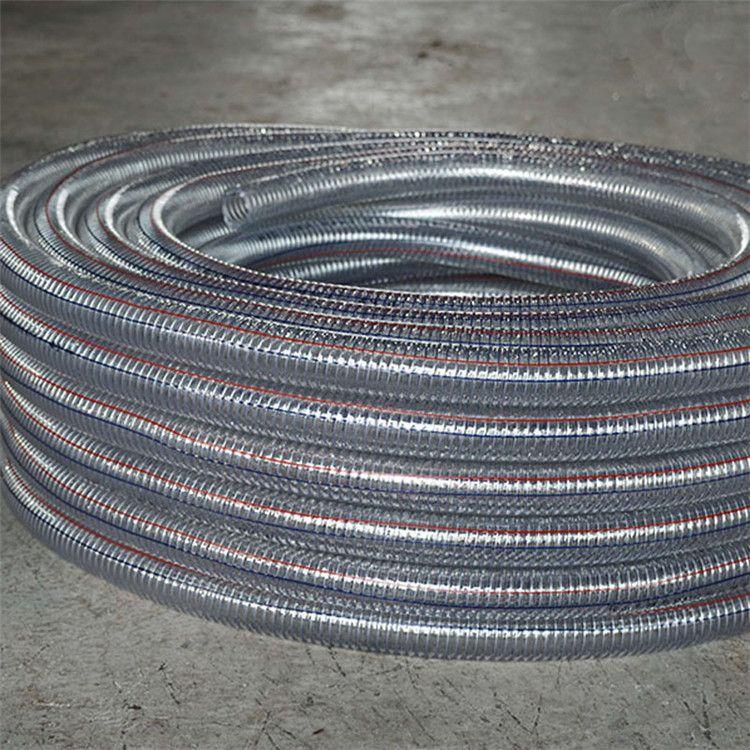 直销PU钢丝管、钢丝吸尘软管、环卫车/扫路车/除尘车吸尘软管