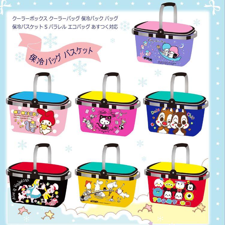 双子星可爱可折叠野餐包冰包拉链饭盒袋保温包 B3766