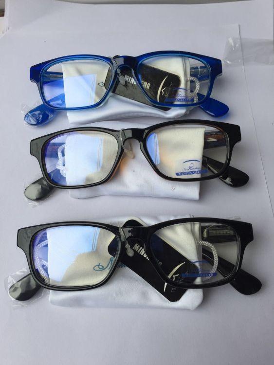 新款米钉蓝膜平光镜防蓝光电脑镜护目镜 厂家定做防蓝光护目镜