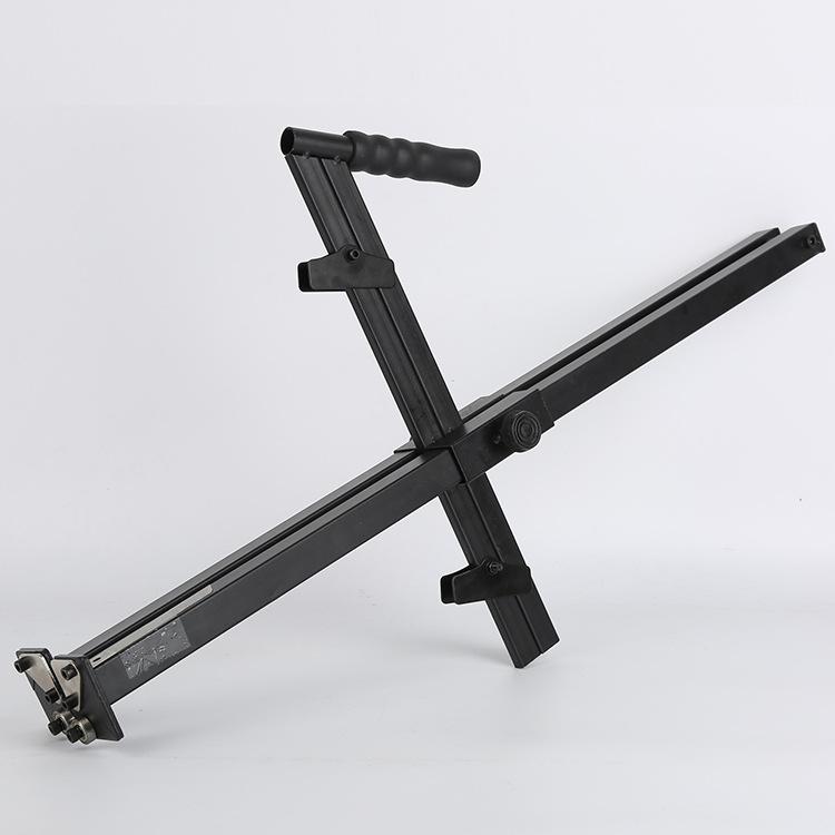 手动石膏板裁割神器手推专用工具高精度切割便携手推滚轮式裁板器