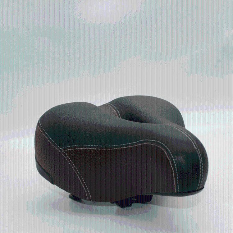 供应巧克力色中孔镂空型电动车鞍座坐垫座包电动车坐垫车座