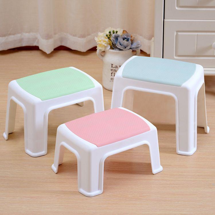 厂家直销儿童塑料凳子宝宝创意收纳凳幼儿园桌椅一件代发加厚