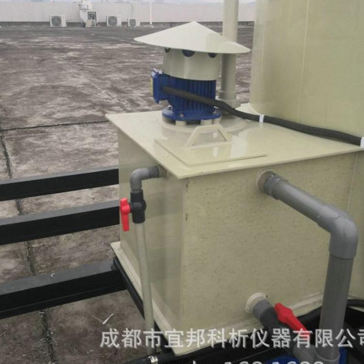 酸雾净化塔 小型 水喷淋净化塔 钢制净化塔 pp废气净化塔
