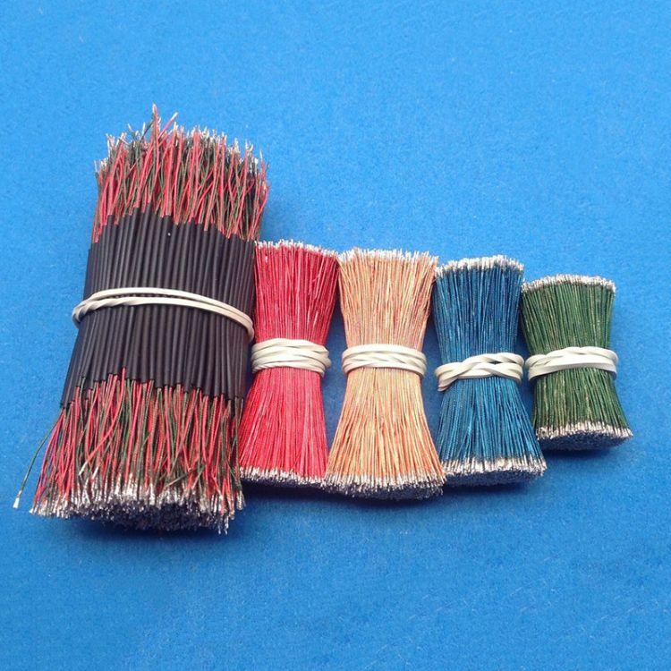 厂家直销12*0.08彩色多股漆包线 红黄蓝绿四色蓝牙耳机咪头线加工