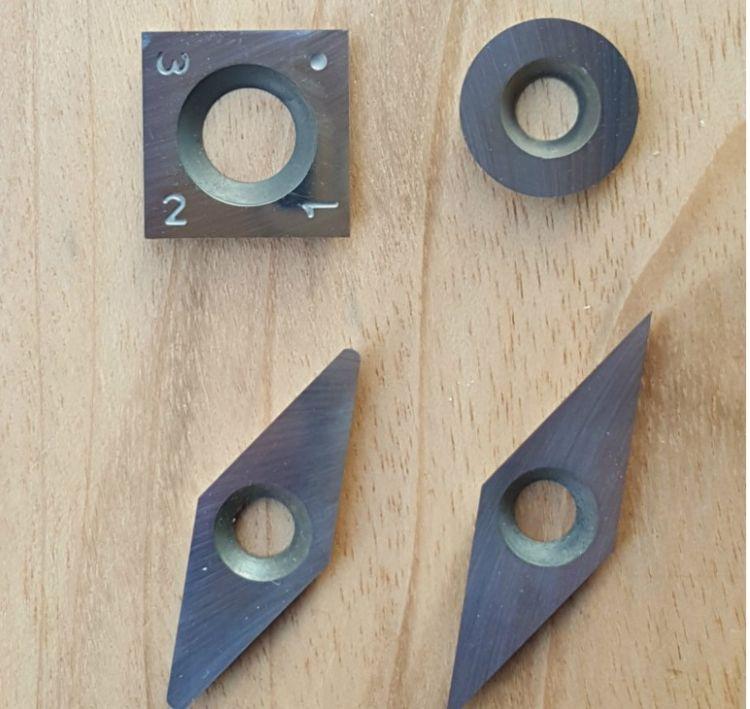 木工车刀片舍弃式手持式木旋刀片钨钛硬质合金刀片DIY自制车刀